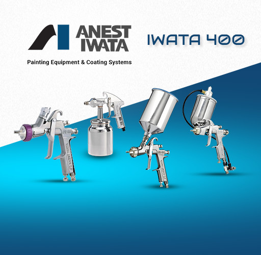 Anest Iwata 400 Series Spray Guns