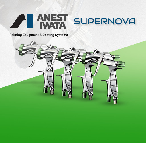 Anest Iwata Supernova Spray Guns