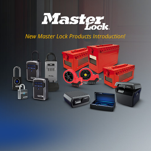 New Master Lock Products Introduction!