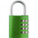 14545 145 Series 4-Dial Padlock Green - Carded