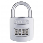 12811 160 Series Steel/Chrome 4-Dial Padlock - Carded