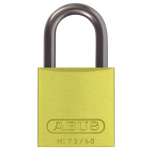 09579 72 Series Yellow Aluminum Padlock,