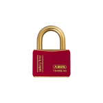 Weatherproof Brass Padlock Keyed Alike Red