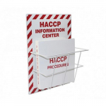 "20"" x 15"" HACCP Food Safety Information Center"
