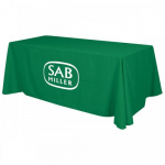 6' Green Table Throw Cover