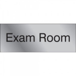 "3"" x 8"" Engraved Accu-Ply Sign ""Exam Room"""