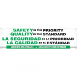 "28"" x 8 ft. Safety Banner ""Safety Is The ..."""