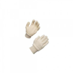 Poly Cotton String Knit Gloves, Large