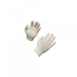 Bleached String Knit Gloves, Large