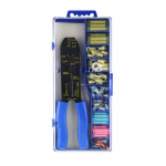 120-Piece Connector Kit with Crimp Tool
