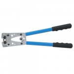 6 to 1/0 AWG Heavy-Duty Hex Lug and Terminal Crimper