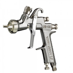 LPH400-124LV Spray Gun with Plastic Gravity Cup