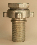 "(Ever-Tite) 4"" Ground Joint Coupling - Set"