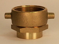(Ever-Tite) Swivel Adapter - Brass