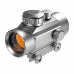 Red Dot Scope Silver Finish, 1x/30mm