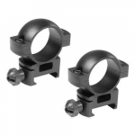 "1"" High Weaver Style Rifle Scope Rings"