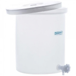 15 gal Polly Crock with Lid and Faucet