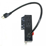 Movable Power Connector, 125V, 15A