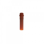 2.0ml Sterile Conical Screw Cap Microcentrifuge Tube with Cap, Amber