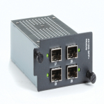10-GbE SFP+ LE2700 Hardened Managed Switch Chassis