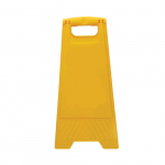 "24"" x 12"" Heavy Duty Floor Stand, Yellow, No Text"