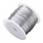 "0.032"" x 1800' Stainless Steel Pipe Marker Fastener Wire"