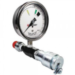 In-Line Pressure Gauge for Hydraulic Pumps