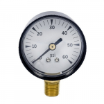 0 - 60 PSI Test Gauge, 1 PSI Increments