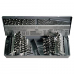 1898 115 pcs Drill Set Fractional & Letter Wire