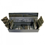 1802 115 pcs Drill Set Fractional & Letter Wire