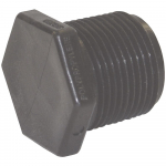 "1-1/2"" Schedule 80 Threaded Polypropylene Pipe Plug"