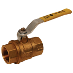 "1/2"" Brass Ball Valve Full Port, Imported"