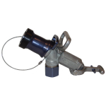 Diesel Fuel Nozzle Dog Latch Mechanism w/ Plug