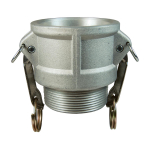 Global Cam & Groove Type B Coupler x Male NPT