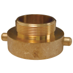 Hydrant Adapter Pin Lug Brass