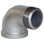 "1/2"" NPT Threaded 90 Deg. Street Elbow"