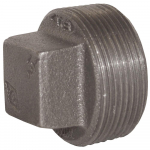 "1-1/2"" NPT Threaded Square Head Plug"