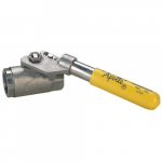"""Deadman"" Handle SS Ball Valve"