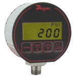 Series DPG-200 Digital Pressure Gage, 100 psig