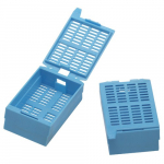 Blue Large Kartell Tissue Embedding Cassette