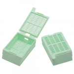 Green Large Kartell Tissue Embedding Cassette
