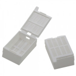 White Large Kartell Tissue Embedding Cassette