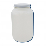 1-Gallon High Density Polyethylene Wide Mouth Jar