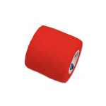 Sensi-Wrap 2in x 5 yds Self-Adherent Bandage Rolls, Red