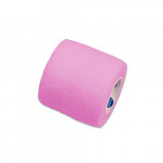 Sensi-Wrap 2in x 5 yds Self-Adherent Bandage Rolls, Pink