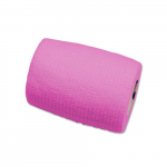 Sensi-Wrap 3in x 5 yds Self-Adherent Bandage Rolls, Pink