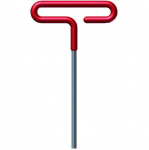 "1/4"" Cushion Grip Hex T-Key with 15"" Arm"
