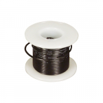 25 ft. 22 AWG Solid Wire - Black