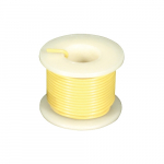 25 ft. 22 AWG Solid Wire - Yellow