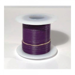 25 ft. 22 AWG Solid Wire - Purple